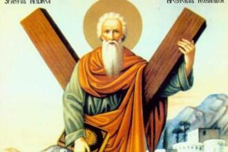 SFANTUL ANDREI. Credinciosii il sarbatoresc luni pe Sfantul Apostol Andrei, Ocrotitorul Romaniei