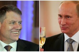 Mesajul lui Vladimir Putin pentru Klaus Iohannis dupa castigarea alegerilor: Va doresc succese in activitatea de stat