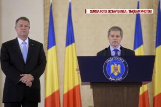 Astazi, Guvernul Ciolos merge in Parlament pentru votul de incredere. Iohannis: