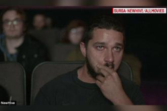 A ras, a plans sau a dormit: reactiile actorului Shia LaBeouf la vizionarea propriilor filme