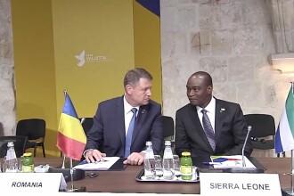Klaus Iohannis, la summitul privind combaterea migratiei ilegale: Statele UE si tarile africane trebuie sa actioneze impreuna