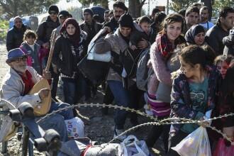 Macedonia vrea sa controleze afluxul de migranti si extinde gardul de la granita cu Grecia.
