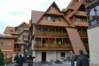 Complexul bisericesc, cu baza de tratament si hotel, detinut de IPS Teodosie la Suceava, a fost inchis de pompieri
