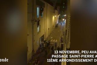 Cosmarul de la Bataclan, filmat de un jurnalist. Corpuri intinse pe strada, oameni agatati de ferestre si sange peste tot