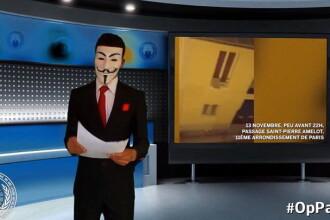 Hackerii de la Anonymous au declarat razboi impotriva Statului Islamic, dupa atacurile din Paris.