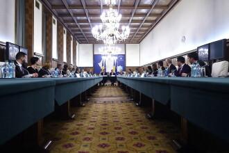 Prima sedinta a Cabinetului Ciolos. Premierul a anuntat modificarea structurii Guvernului
