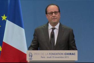 Avertismentul presedintelui Francois Hollande, inainte de UEFA Euro 2016.