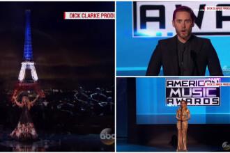 One Direction, artistii anului la premiile AMA. Jared Leto si Celine Dion, tribut emotionant in memoria victimelor din Paris