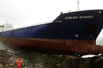 Un marinar rus, beat-crita, a izbit o nava de stancile Scotiei. Motivul pentru care a baut jumatate de litru de rom