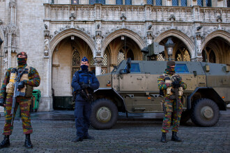 Raid al politiei belgiene la Auvelais. Perchezitii la mai multe apartamente, in legatura cu amenintarile unui atac terorist