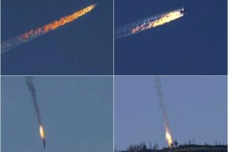 Avion rus doborat. Corpul pilotului ucis, recuperat de Turcia, va fi trimis Rusiei: