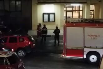 Cladirea Universitatii de Medicina si Farmacie din Iasi a fost evacuata in urma unui incendiu