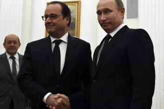 Hollande a cerut la Moscova crearea unei