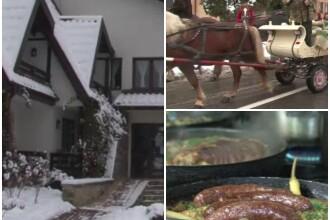 Turistii au umplut pensiunile din Bucovina in vacanta de 1 Decembrie.