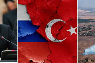Kremlinul ia masuri dure impotriva Turciei, dupa doborarea avionului rusesc. Vladimir Putin este