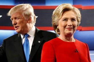 Clinton si Trump, umar la umar cu o saptamana inainte de alegeri. Atacurile se intensifica: