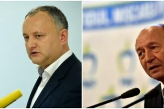 Candidatul prorus Igor Dodon il ameninta pe Traian Basescu cu pierderea cetateniei moldovenesti. Ce i-a transmis in direct