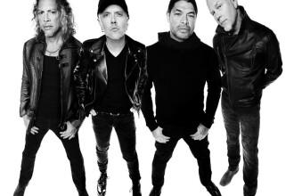 Concert Metallica în România. Celebra trupă va cânta pe Arena Națională în 2019