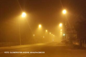 COD GALBEN de ceata in sase judete din sudul tarii. Vizibilitatea va fi de sub 50 de metri si poate aparea si poleiul