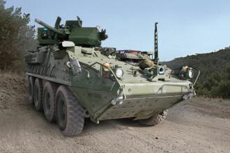 Armata SUA a prezentat noul vehicul de lupta, creat pentru a le face fata rusilor. Noul Stryker ar putea ajunge si in Romania