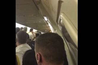 Un roman dat in urmarire internationala ar fi provocat o bataie la bordul unui avion Ryanair, pe ruta Bruxelles-Malta. VIDEO