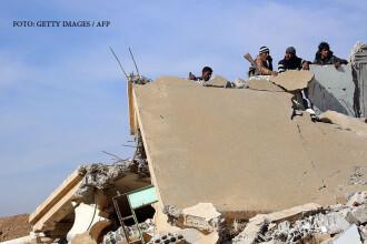 42 de civili ucişi în raiduri ale coaliţiei antijihadiste în oraşul sirian Rakka