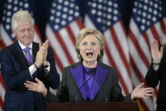 Primul discurs al lui Hillary Clinton dupa ce a pierdut alegerile: