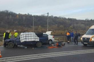 Doua persoane au murit si alte trei au fost ranite in mai multe accidente produse pe DN 1. Soseaua era acoperita cu polei
