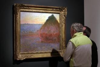 Un tablou de Monet, adjudecat cu o suma record la o licitatie la New York. Pretul final a depasit cu mult estimarea