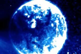 O sfera stranie a aparut in fata Soarelui in imaginile realizate de NASA. Adeptii teoriei conspiratiilor sustin ca e un OZN