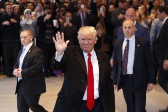 Donald Trump a condamnat intr-un interviu pentru New York Times gruparea care a sarbatorit victoria sa cu un salut nazist