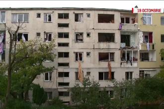 Blocul din Bistrita afectat de explozie nu mai poate fi locuit. Cand se vor termina lucrarile de consolidare