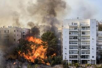 Zeci de mii de oameni evacuati in Israel, in urma unor incendii de vegetatie. Autoritatile suspecteaza o mana criminala