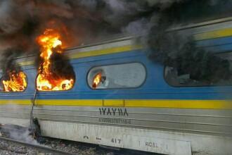 Grav accident feroviar in Iran dupa ce doua trenuri s-au ciocnit. Sunt cel putin 44 morti si zeci de raniti. VIDEO