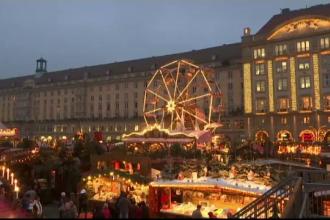 Cel mai vechi targ de Craciun din Germania s-a deschis la Dresda. Masuri de securitate sporite luate anul acesta