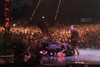 Accident in timpul unui show Cirque du Soleil. O fosta gimnasta s-a prabusit de la inaltime, sub ochii publicului