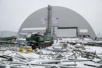 Ucraina a inaugurat domul de otel pus peste reactorul de la Cernobil. Constructia a durat 7 ani si a costat 1.5 mild. de euro