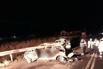 Cinci tineri au murit carbonizați în mașină, după accidentul din Suceava. Doar o victimă a fost identificată