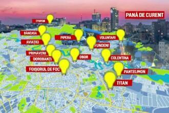 Pană majoră de curent în București. Banii de investiţii în reţea au mers la gaura din buget