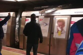 Metrou blocat în tunel, la Eroilor, după un scurtcircuit. Circulația a fost oprită 2 ore