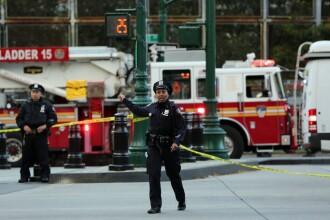 Un elev rănit în atacul din New York a refuzat să rămână la spital, ca să nu primească absențe