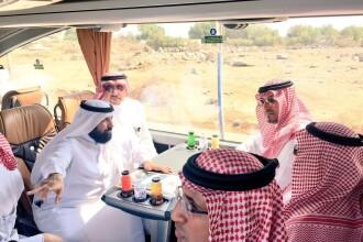 Prinţ saudit, mort într-un accident de elicopter. Imaginile filmate înainte de prăbuşire