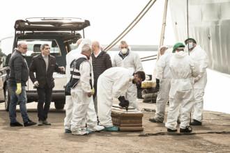 Cel puţin 25 de migranţi au murit după ce o ambarcaţiune s-a scufundat în Marea Mediterană