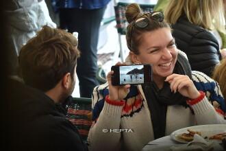 Simona Halep, fotografiată în timpul vacanţei în Portofino în compania unui tânăr. FOTO