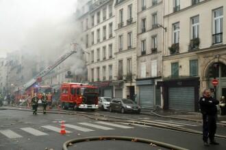 Incendiu de proporţii, într-un magazin din Paris. Sunt cel puţin 6 răniţi
