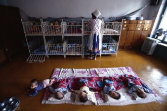 Un lagăr din Coreea de Nord, transformat în orfelinat. Copiii străzii, obligați să muncească