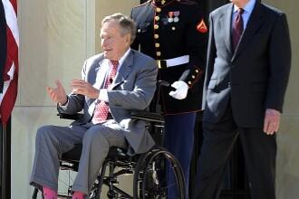 George Bush, acuzat că a pipăit 6 femei. Reacţia fostului preşedinte