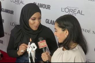 Apariţie surpriză la gală Glamour Women din New York. Cu cine a venit o sportivă