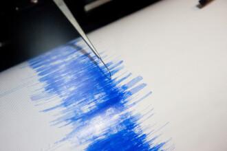Două cutremure în Vrancea, în noaptea de miercuri spre joi