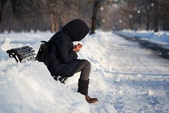 Ciclonul polar Olaf ajunge duminică în România. Ninsori și temperaturi scăzute